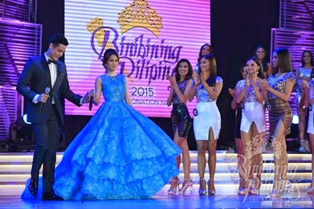 Xian Lim and Toni Gonzaga host Bb. Pilipinas 2015 coronation night