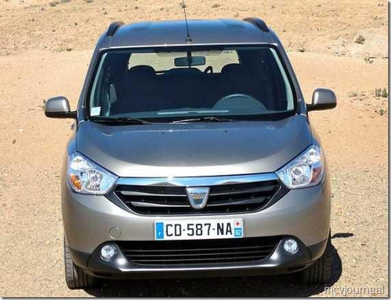 Dacia Lodgy testdagen 14