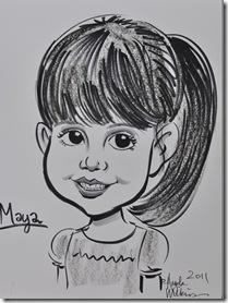 Maya Caricature