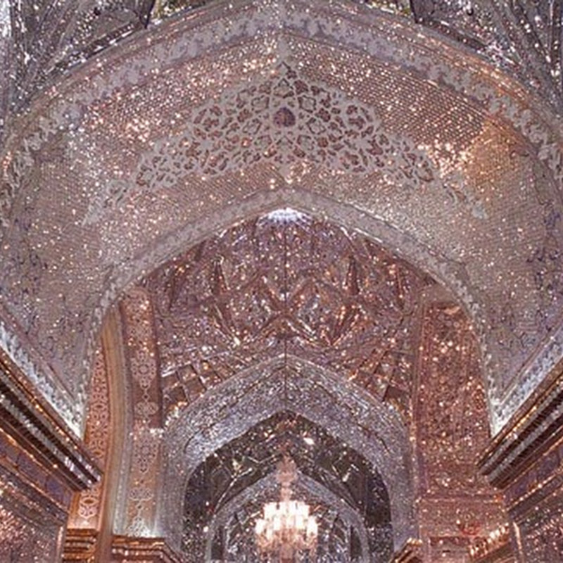 The Glittering Mausoleum of Shah-e-Cheragh