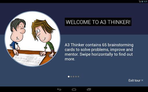 A3 Thinker - screenshot