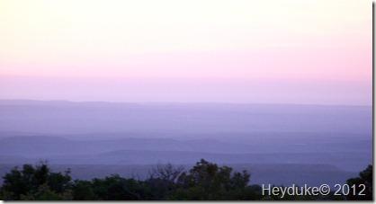sunrise from Pine Spring