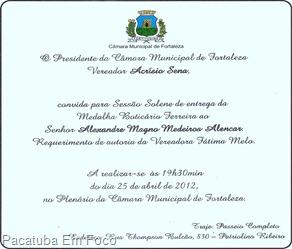 alexandre convite