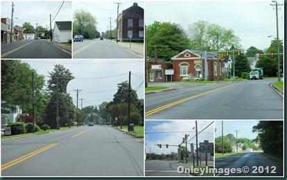 Onley VA streets