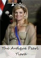 The Antique Pearl Tiara