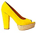 H&M Conscious 2012 Collection SPRING shoes wedges platform espadrille eco green substainability