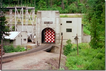 259159872 Door Opening at the East Portal of the Cascade Tunnel at Berne, Washington in 2002
