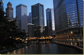 2011-07-02 Chicago River at Evening
