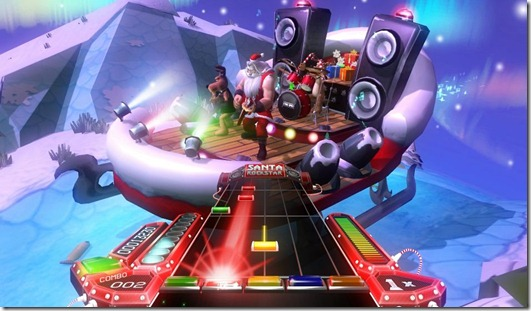 Santa Rockstar HD indie game (5)