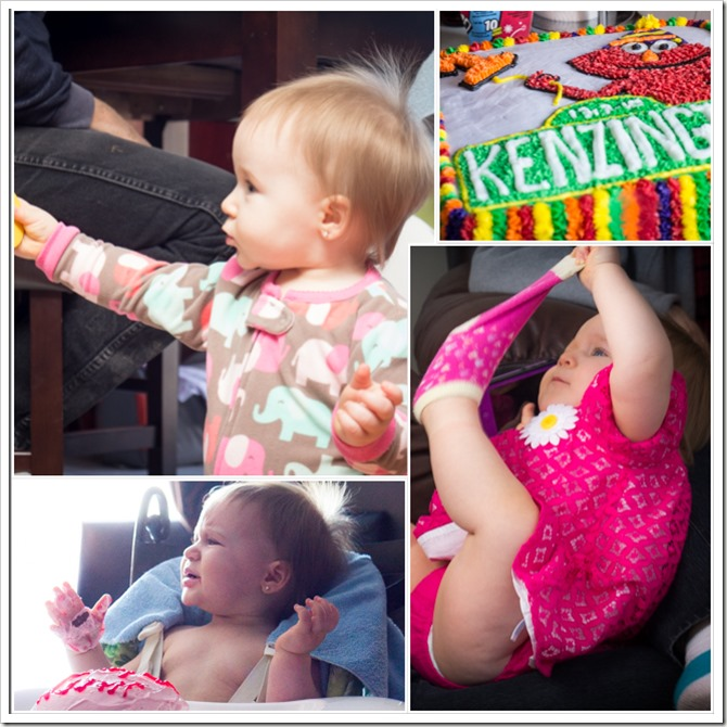 Kenzi first birthday