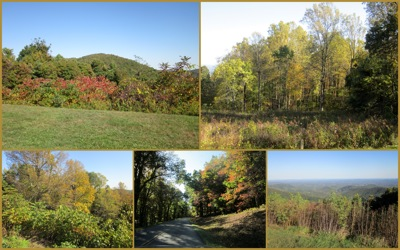 Blue Ridge colors