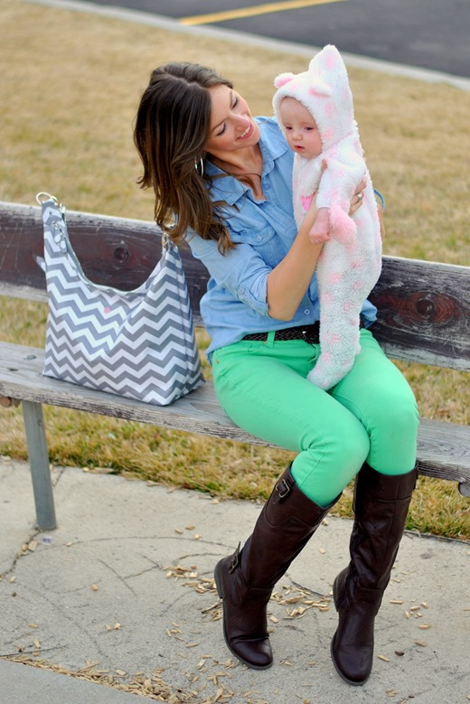 Win a stylish JP Lizzy diaper bag at www.maybematilda.com!