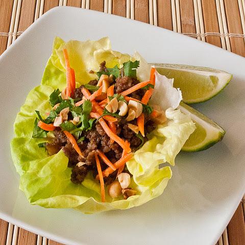 Thai Pork Wrap-Ups Recept | Yummly