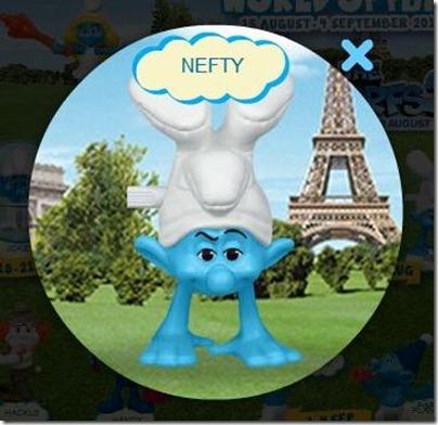 Smurf 2 X Happy Meal - Hefty Smurf