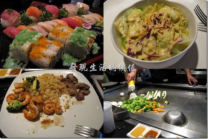 美國-路易斯威爾(Louisville) Sake Blue日本料理。來美國出差幾天了,每天都吃肉也不是辦法,好不容易找到一家日本料理店【Sake Blue】,這應該是一家連鎖店,其實要在美國想找到一間不是連鎖的餐廳還真的有點難。總之在美國這家【Sake Blue】算不吃就是了,不過也別期望可以有台灣或是日本在地的那麼道地的料理。
