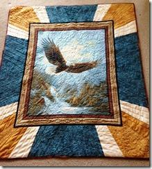 margaret quilt eagle