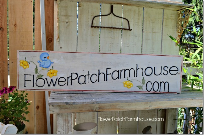 Flower Patch Sign