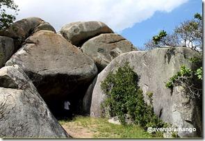 Cavernas no sítio Catolé de Baixo