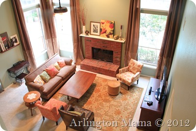 """""""living room reveal"""", """"living room furniture"""", """"high ceiling room"""", """"tall curtains"""", """"extra long curtains"""", """"new furniture"""", """"furnishing a new house"""", """"two focal point living room"""", """"arranging furniture"""""""