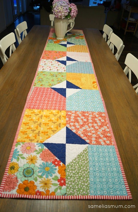 Layers of Charm - Table Runner