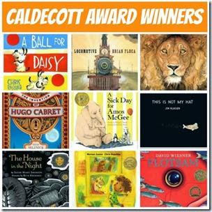 Caldecott Award Winners from Children Books and Reading