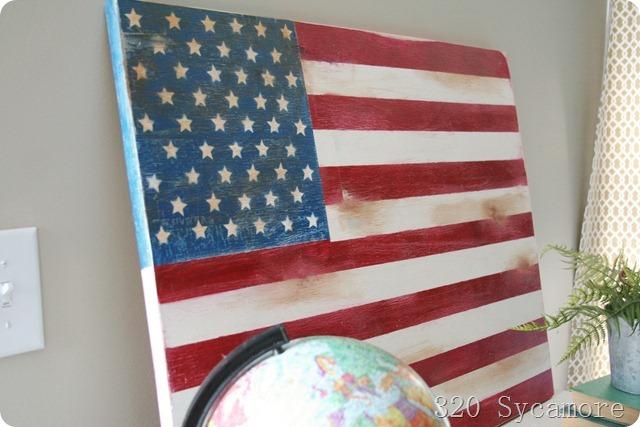 american flag diy