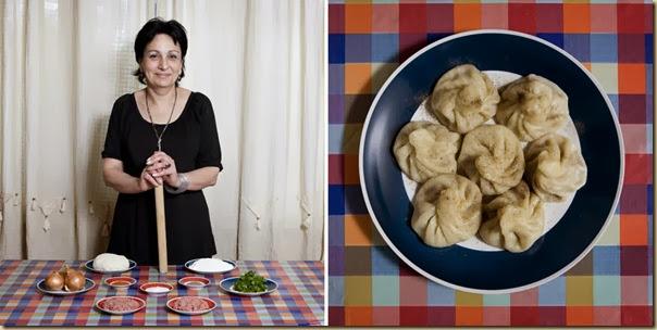 Portraits de grand-mères et leurs plats cuisinés (31)
