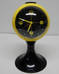 Blessing, West Germany alarm clock, yellow