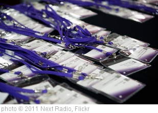 'nextrad.io nametags' photo (c) 2011, Next Radio - license: http://creativecommons.org/licenses/by/2.0/