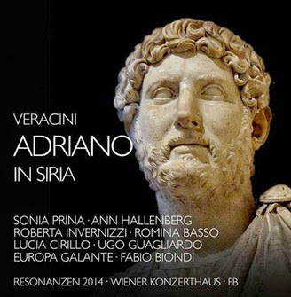 CD REVIEW: Francesco Maria Veracini - ADRIANO IN SIRIA (Fra Bernardo fb 1409491)