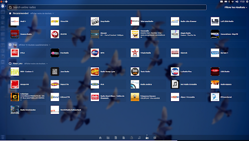 Unity Radios lens su Ubuntu 12.10