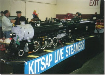 09 Kitsap Live Steamers at GATS in Puyallup, Washington in November 2000