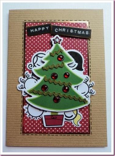 SMIRK Christmas Card