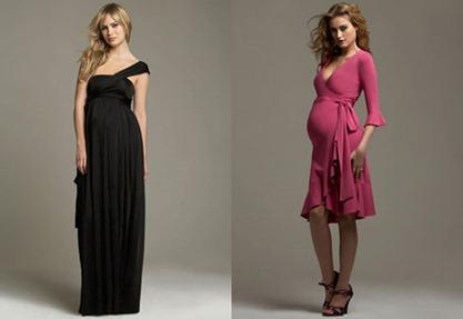 Vestidos de Fiesta Largos para Embarazadas3