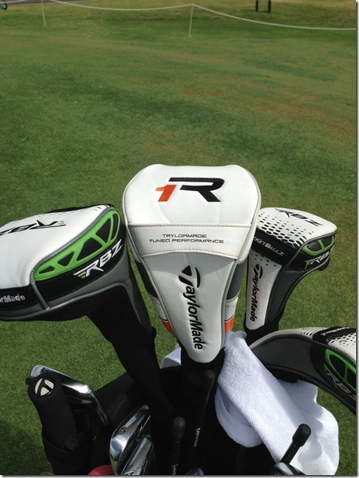 Taylormade R1 Driver >> Darren Clarke First To Show Off TaylorMade R1 Driver ...