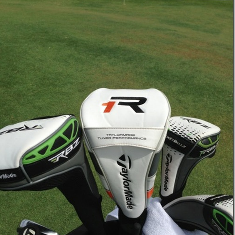 Darren Clarke First To Show Off TaylorMade R1 Driver