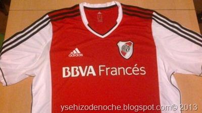 nueva camiseta de river 2013-2014