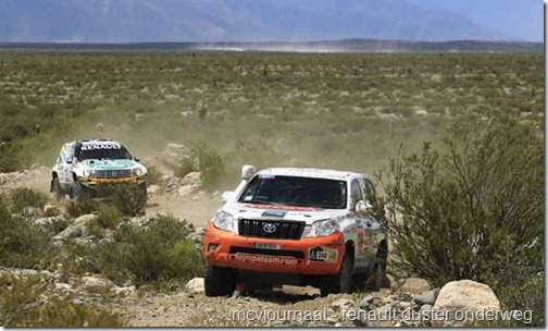 Dakar Rally Renault Duster 34