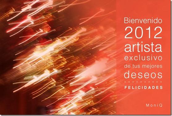 saludo año nuevo 2012 de moniq