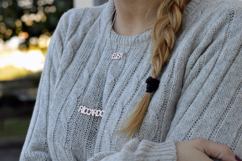 Mia Gioia, Jewels, Collane con il nome, Name Necklace, Mia Gioia jewels, Mia Gioia neklace, fashion blogger, italian fashion bloggers, fashion blogger firenze, collaboration