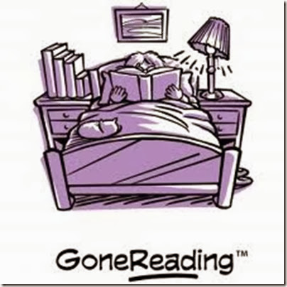 gone reading in bed