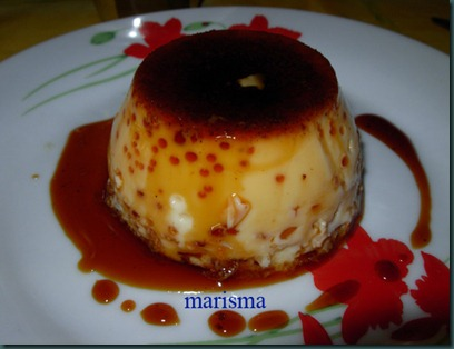 flan de naranja al toque de canela,racion copia