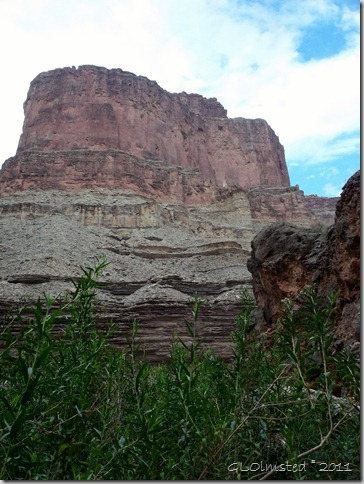 04 View to N from Elves Chasm ~RM 117.2 Colorado River trip GRCA NP AZ (768x1024)