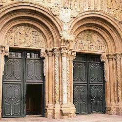 87 - Portada de las Platerias de la Catedral de Santiago