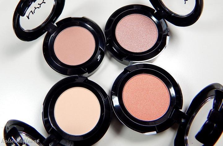 NYX Hot Single Eyeshadows
