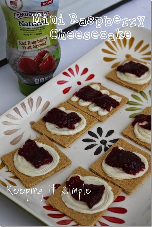 Mini-Raspberry-Cheesecake #SpreadALittleSunshine