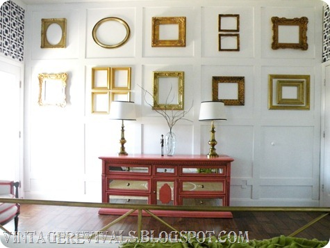Mirrored Dresser