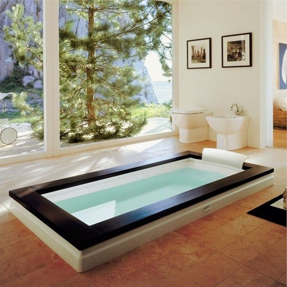 Ideas Para Decorar Un Baño Con Jacuzzi:18 Ideas de cómo diseñar y decorar el baño para que parezca un spa