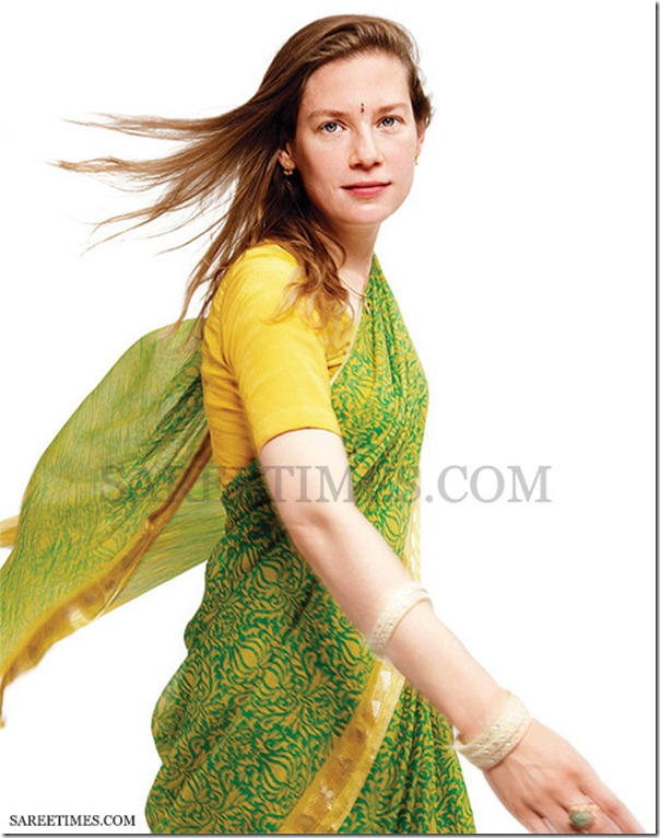 Anja_Ploetz_Green_Saree
