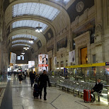 milan central in Milan, Milano, Italy